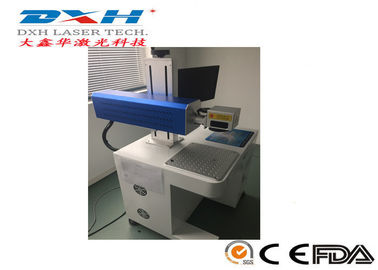 China Compacte Kabellaser die Machine, Leer/Stoffenlaser merkt die Machine 1064nm merkt fabriek